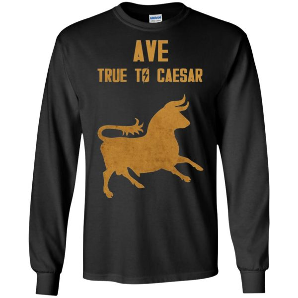 ave true to caesar long sleeve - black