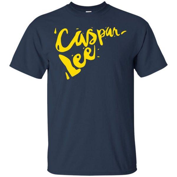 caspar lee t shirt - navy blue