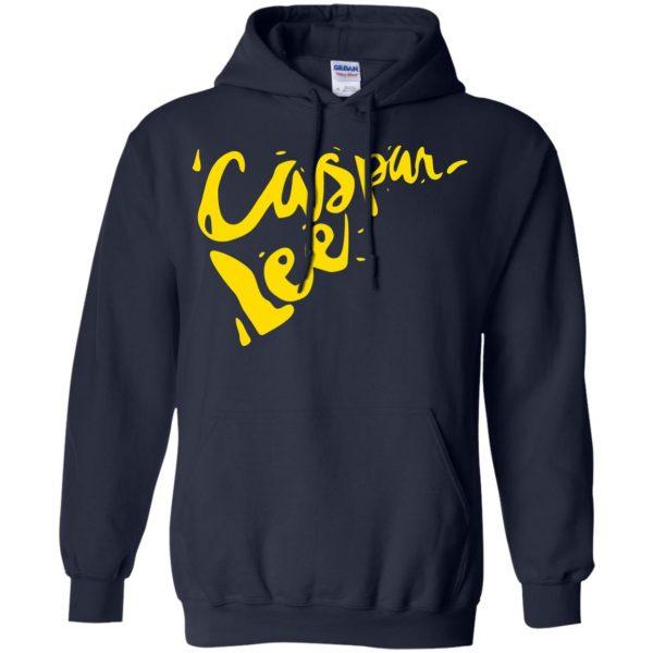 caspar lee hoodie - navy blue