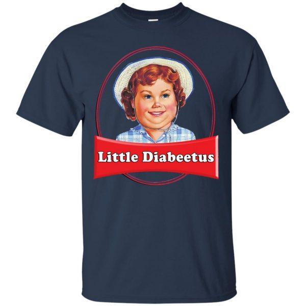 little dabbie t shirt - navy blue