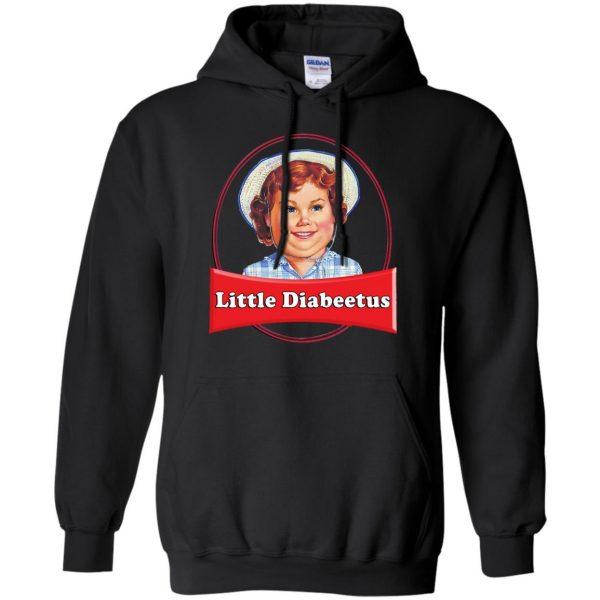 little dabbie hoodie - black