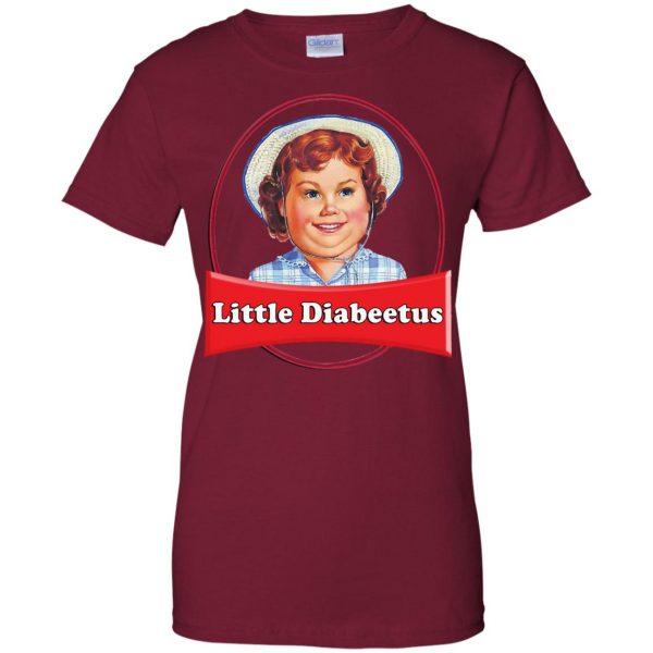little dabbie womens t shirt - lady t shirt - pink cardinal