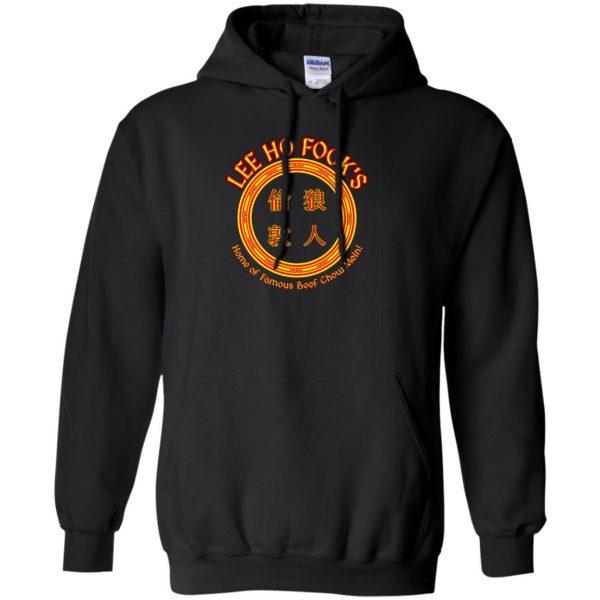 lee ho fook hoodie - black