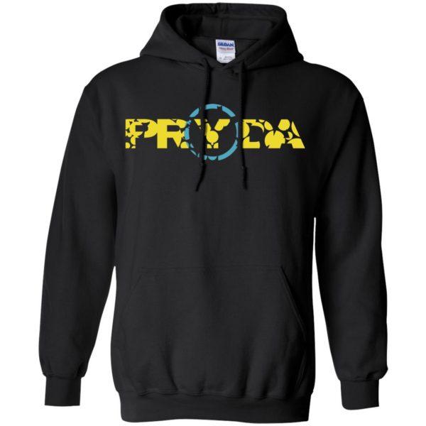 pryda hoodie - black