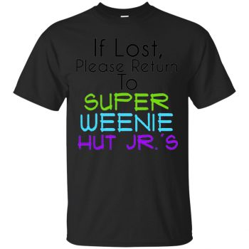 weenie hut jr shirt - black