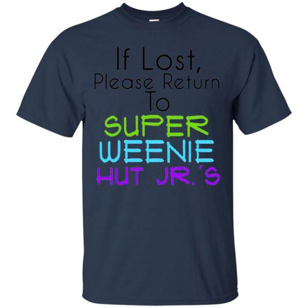weenie hut jr t shirt - navy blue