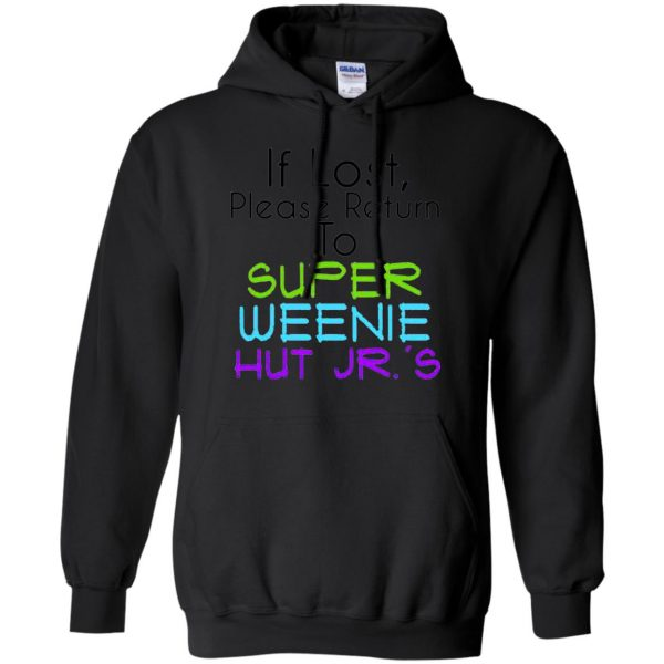 weenie hut jr hoodie - black