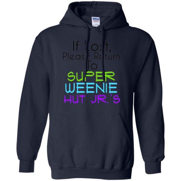 weenie hut jr hoodie - navy blue