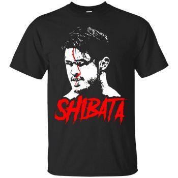 katsuyori shibata shirt - black