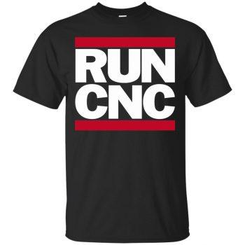 run cnc shirt - black
