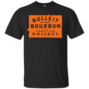 bulleit bourbon shirt - black