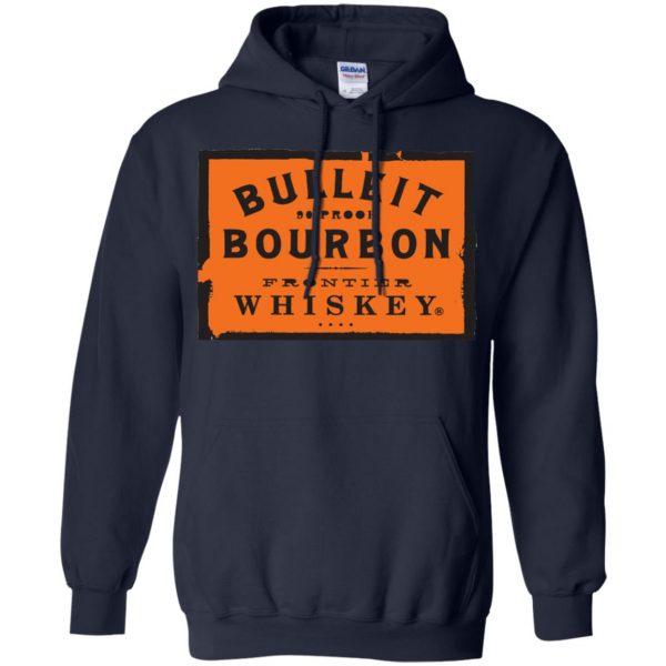bulleit bourbon hoodie - navy blue