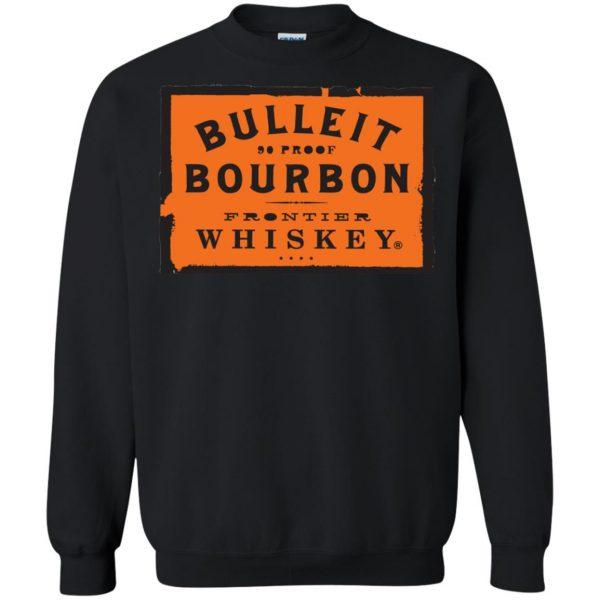 bulleit bourbon sweatshirt - black