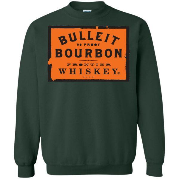 bulleit bourbon sweatshirt - forest green