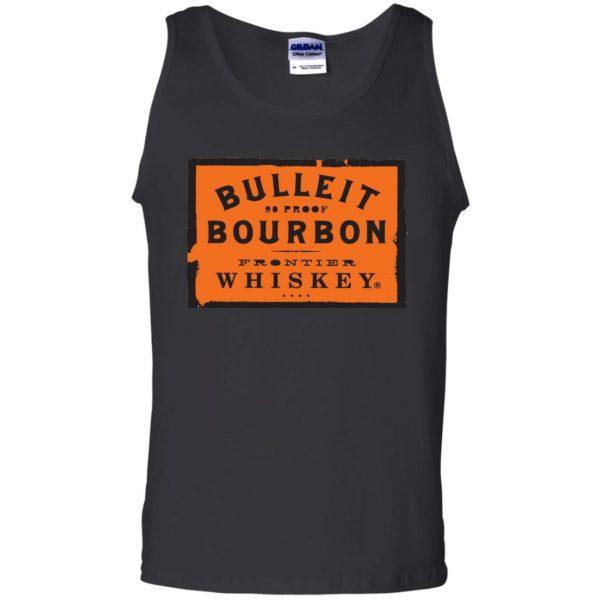 bulleit bourbon tank top - black