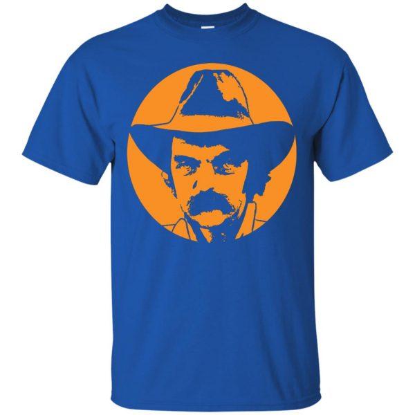blaze foley t shirt - royal blue