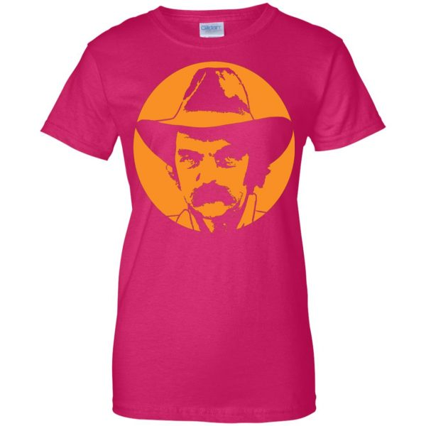 blaze foley womens t shirt - lady t shirt - pink heliconia