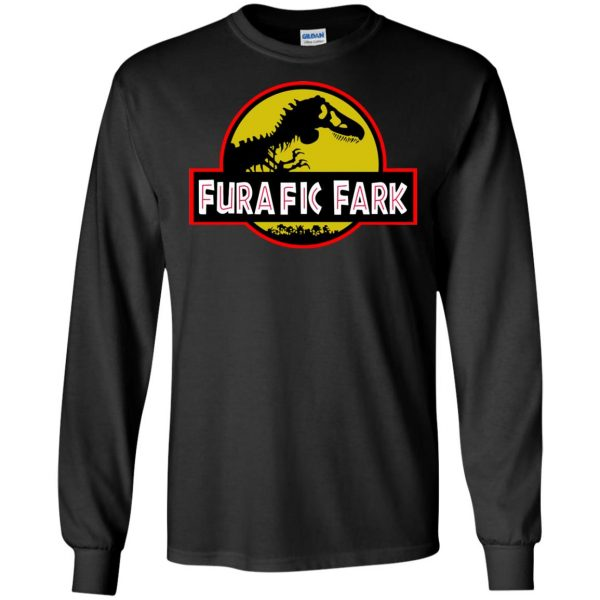 furafic fark long sleeve - black