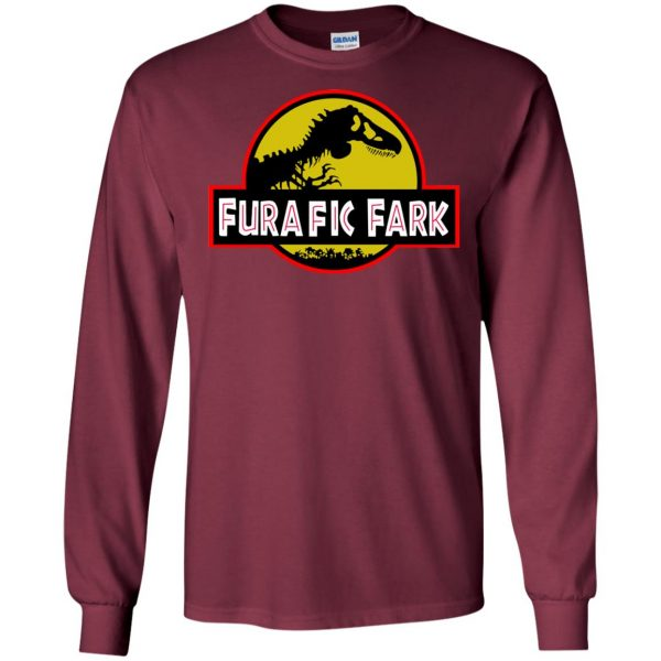 furafic fark long sleeve - maroon