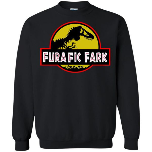 furafic fark sweatshirt - black