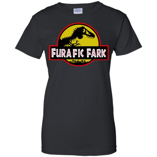 furafic fark womens t shirt - lady t shirt - black