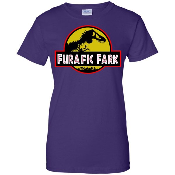furafic fark womens t shirt - lady t shirt - purple