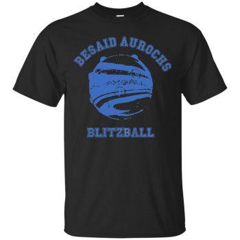 besaid aurochs shirt - black