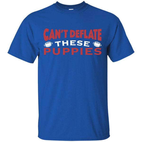 deflate these t shirt - royal blue