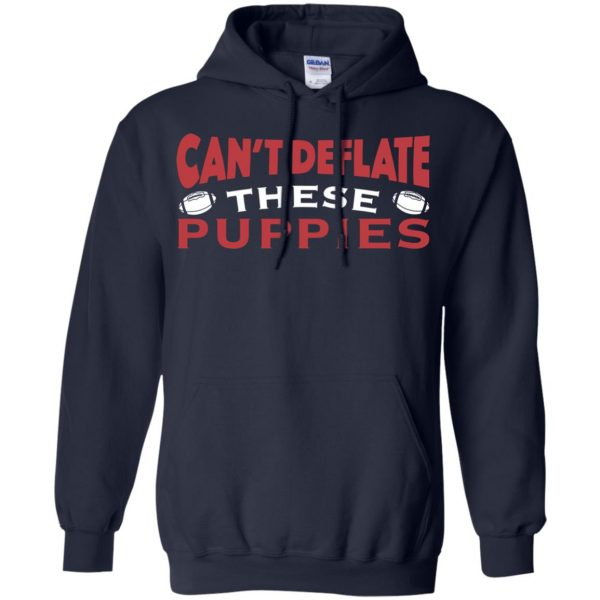 deflate these hoodie - navy blue