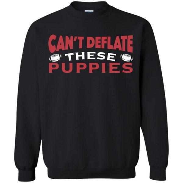 deflate these sweatshirt - black