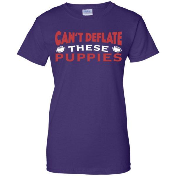 deflate these womens t shirt - lady t shirt - purple