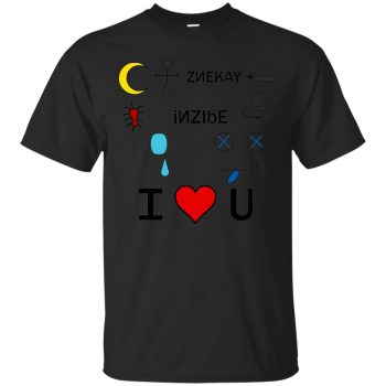 nightman lyrics shirt - black