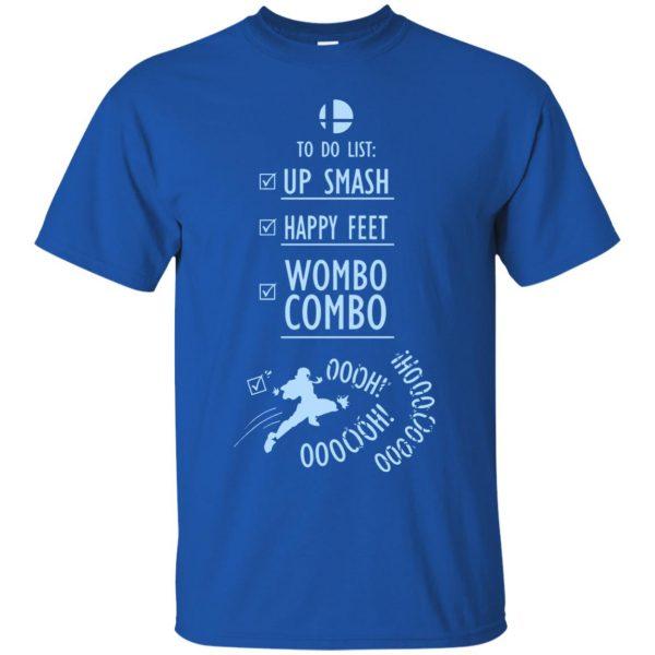 wombo combo t shirt - royal blue