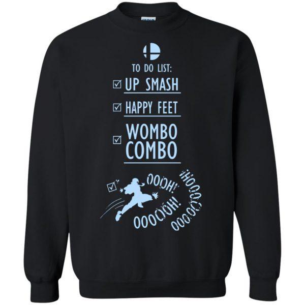 wombo combo sweatshirt - black