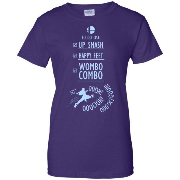 wombo combo womens t shirt - lady t shirt - purple