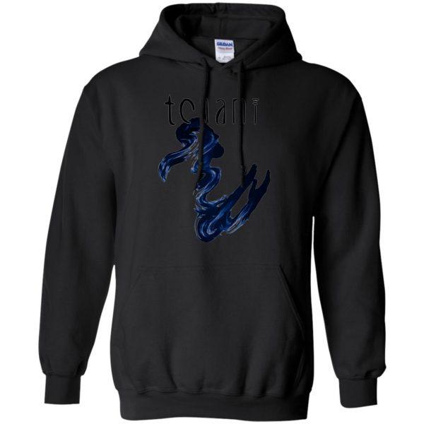 tchami hoodie - black