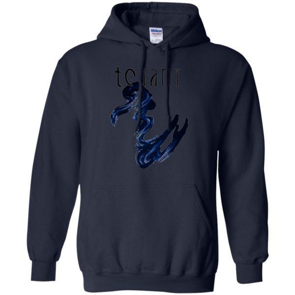 tchami hoodie - navy blue