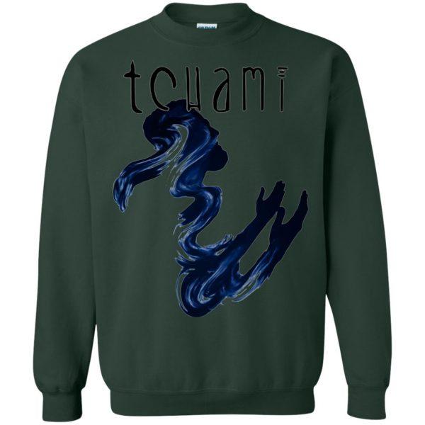 tchami sweatshirt - forest green