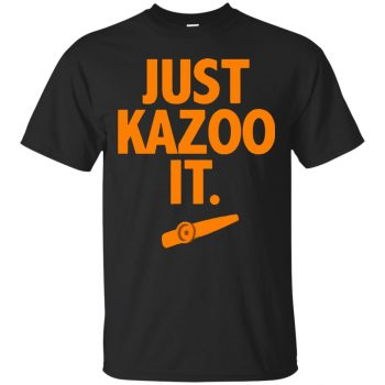 just kazoo it shirt - black