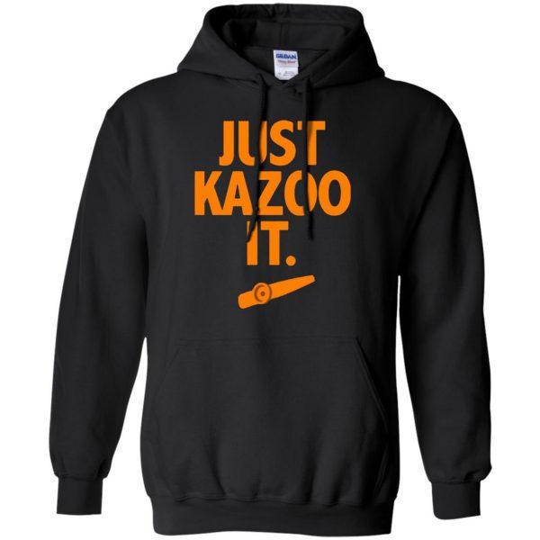 just kazoo it hoodie - black