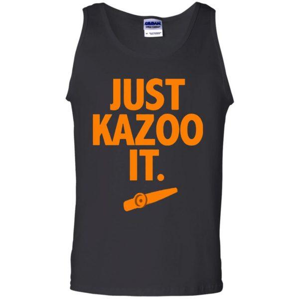 just kazoo it tank top - black