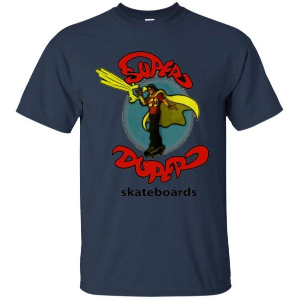 super duper skateboards t shirt - navy blue