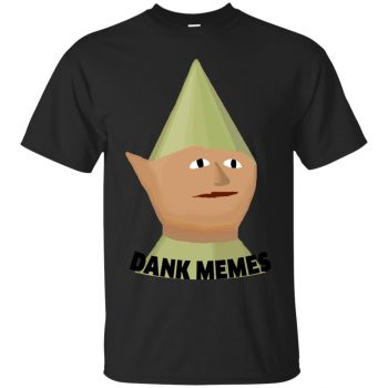 runescape gnome shirt - black