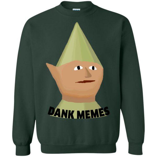 runescape gnome sweatshirt - forest green