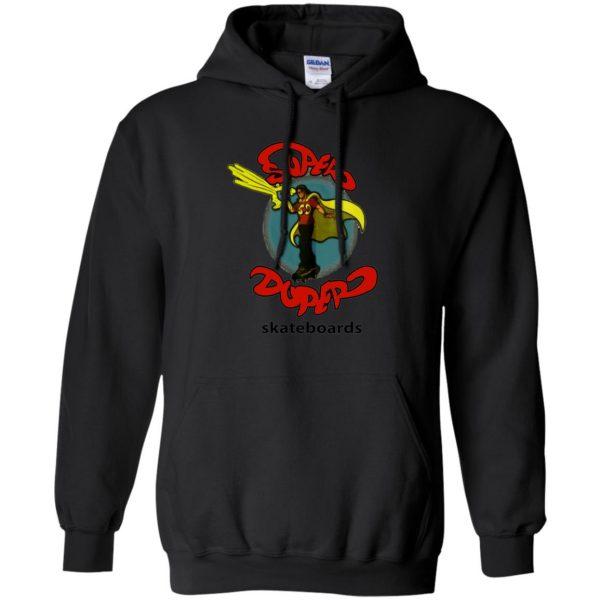 super duper skateboards hoodie - black