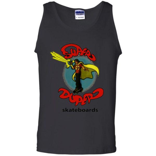 super duper skateboards tank top - black