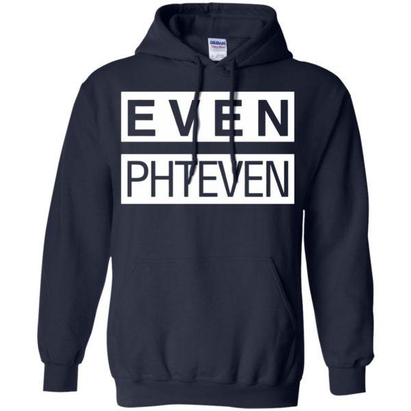 phteven hoodie - navy blue
