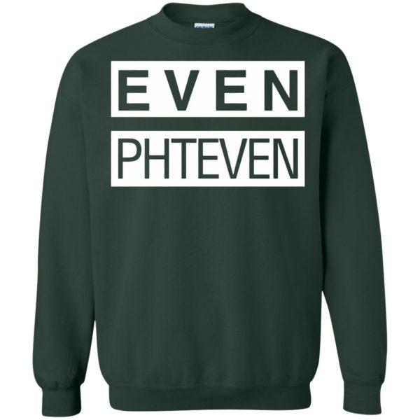 phteven sweatshirt - forest green