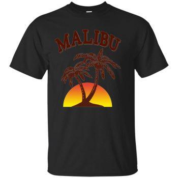 malibu rum shirt - black