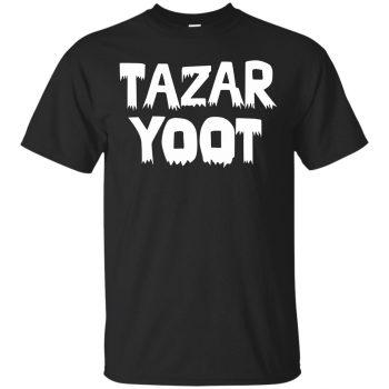 tazar yoot shirt - black